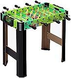 Piarner Madera de los niños regalos de futbolín mesa de la máquina conjunto de juguete Niños y Niñas...