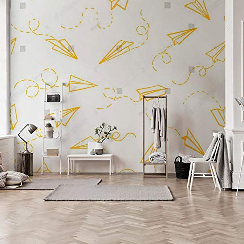 Fototapete 3D Effekt Dekoration Wohnung Modern Wandtattoo Poster Bilder Netto Rot Benutzerdefinierte Wand Wohnzimmer Schlafzimmer Einfache Moderne Frische Flugzeug Weiß Tv Hintergrund Wand