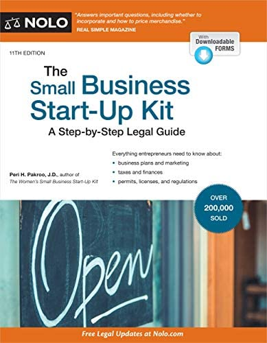Small Business Start Up Kit The A Step by Step Legal Guide product image