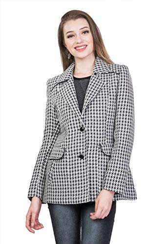 Trufit Polyester Black Short Coats
