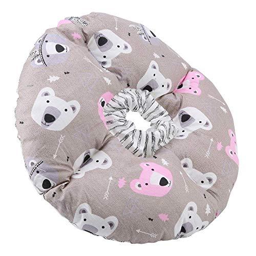 Sheens Schutzkragen für Haustiere Katzen Hund, Anti-Biss-Sicherheitshalsband für Hunde Katzen Komfortable postoperative Wundheilung(Kaffee)