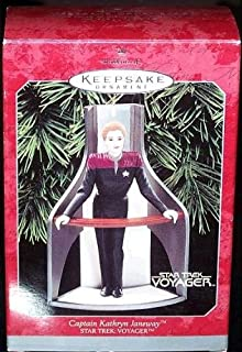 Star Trek Voyager Captain Kathryn Janeway Christmas Ornament by Hallmark