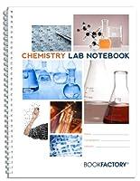 "BookFactory 化学実習ノートブック サイエンティフィックグリッドページ 頑丈な半透明のカバー ワイヤOリング製本 ページサイズは8.5インチ×11インチ/21.6cm×27.9cm Standard 8 1/2"" x 11"" . 75 pg"