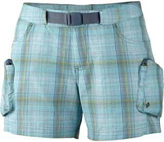 Columbia Cross On Over Cargo Plaid Shorts