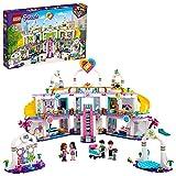 LEGO 41450 Friends Le Centre Commercial de Heartlake City, Jeu de Construction avec 5 Magasins, 4 Minidolls et la Figurine du Bébé