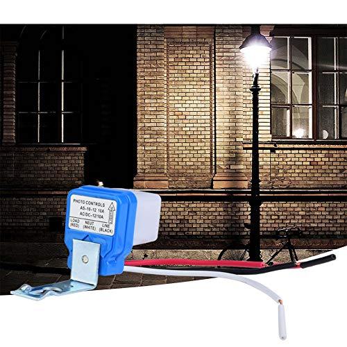 Interruptor de control de luz Interruptor de lámpara al aire libre de menor consumo de energía, para jardín(12V)