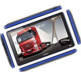 Xgody 886 7 Inch 8GB RAM Built-in / 256MB ROM Capacitive Touchscreen with Sunshade Spoken Turn-by-Turn Directions SAT NAV Car Truck GPS Navigation Lifetime Map Updates Speed Limit Displays