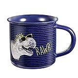 EASE ART Taza de cerámica Novedad Cumpleaños Oficina Navidad Taza de café Regalo Taza de té (350 ml)
