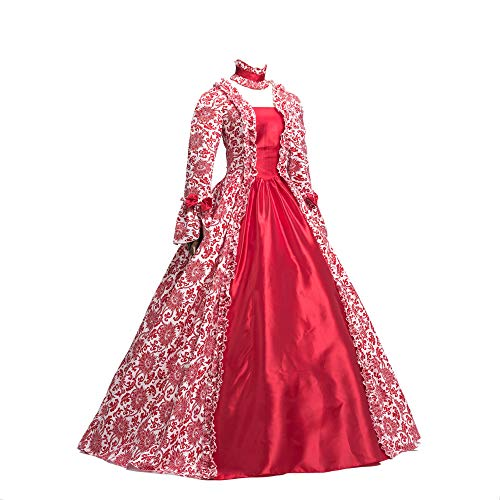 CountryWomen Country Renaissance Gothic Dark Queen Kleid Ballkleid -  -  Medium