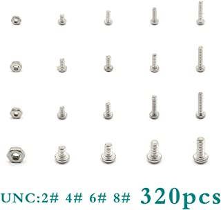 Phillips Drive Adiyer 30 Pack #8-32 UNC x 1-1//4 Inch Machine Screws for Cabinet Drawer Knob Pull Handle 304 Stainless Steel Button Head Bolts