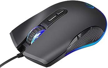 Cgration Mini Mouse Ottico Cablato 4 Colori LED Luce Gaming Mouse G830 per I Giocatori PC Computer Portatile Notebook Acce...