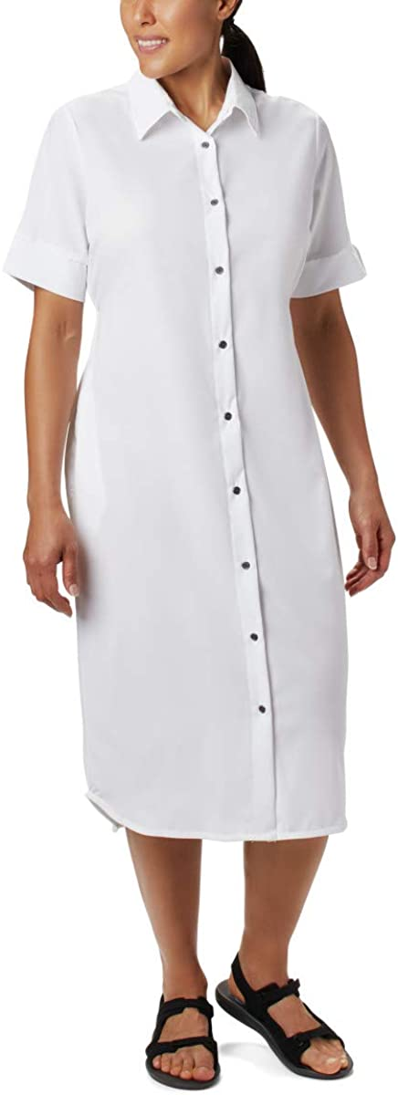 Columbia Ranking TOP8 Women's Firwood Shirt Dress Crossing Cheap sale