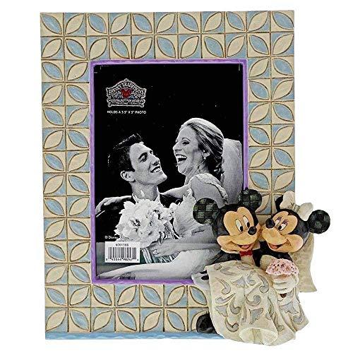 Marco de Fotos de Boda Mickey y Minnie Mouse