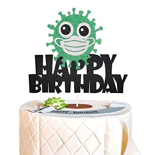 Quarantine Happy Birthday Cake Topper Quarantine Birthday Cake Topper Quarantine Birthday Party Decoration Suppliers