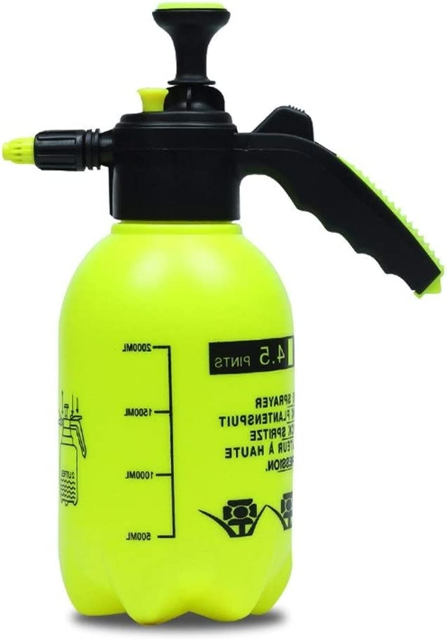 DSWDA 2L Fashionable Pump Pressure Water SPRAYERS Adjust free shipping CAN Garden Watering