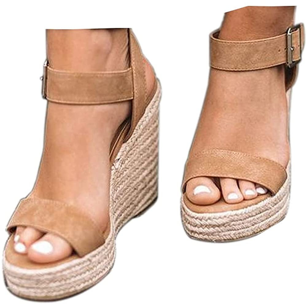 Women'S Wedge Max 81% OFF Max 76% OFF Sandals Platform T Open Strap Ankle