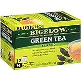 Bigelow Green Tea Keurig K-Cup Pods, Box of 12 Cups (Pack of 6) Caffeinated...