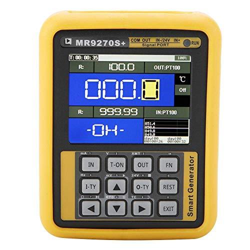 Generatore di segnale portatile Trasmettitore di corrente di frequenza 4-20mA Calibrazione Corrente di tensione Termocoppia AC100-240V(EU plug)