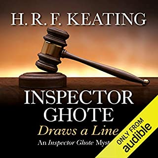 Inspector Ghote Draws a Line                   By:                                                                                                                                 H. R. F. Keating                               Narrated by:                                                                                                                                 Sam Dastor                      Length: 6 hrs and 56 mins     6 ratings     Overall 4.5