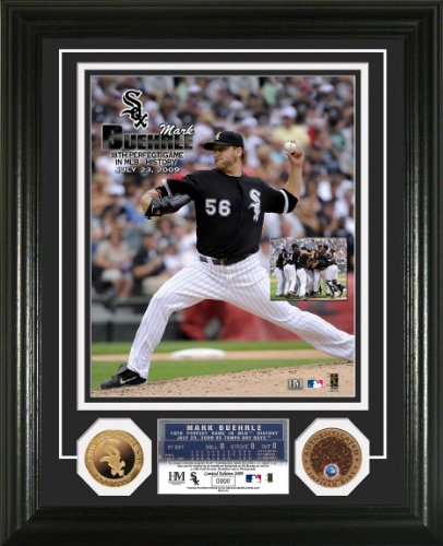 "Buehrle - Wise  ""Perfect Game"" Duo 24KT Gold and Infield Dirt Coin Photo Mint"