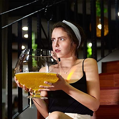 Copa de Vino Hecha a Mano/Vino Extra Grande, Vidrio de Cerveza Gigante, Rojo, Barra de Copa Personalizada, Vidrio de Whisky de Gran Capacidad (Tamaño: 4000ml) / Código de Productos básicos: LQQ-102