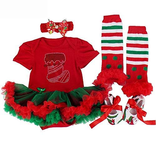 Bola de Navidad Adornos Bolas Bolas de Navidad Vestido de Navidad de manga larga niña Ropa de niños Disfraces Vacaciones Infantil Ropa Niñas Año Nuevo Vestido de Fiesta