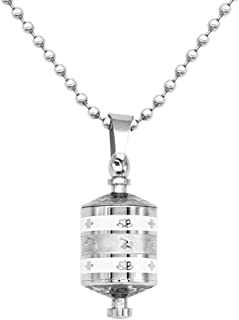 Prettyia Commemorative Urn Commemorative Urn Cremation Commemorative Necklace