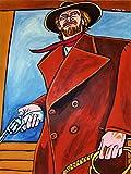 CLINT EASTWOOD PRINT POSTER man cave High Plains Drifter western colt gun movie dvd pistol blu-ray disc cowboy hat