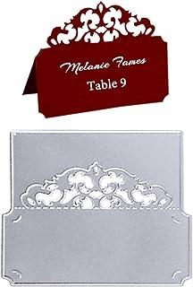 Dies de Decoupe Scrapbooking Carte de Table Matrice de Découpe Cutting Dies Bricolage Carte d'invitation de Mariage