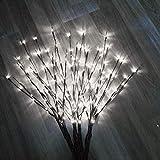 Kloius La Branche de Saule de LED Allume la décoration de fête de Noël à la Maison de lumières Florales d'intérieur Lampes d'ambiance