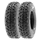 SunF 20x6-10 20x6x10 ATV UTV Tires 6 PR Tubeless A035 [Set of 2]