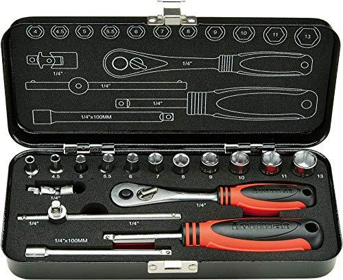 Steckschlüssel-Garn.1/4Z.16tlg. FORMAT - 21042509