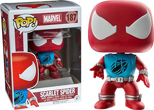 Funko POP!: Marvel: Spider-Man: Scarlet Spider Exclusivo