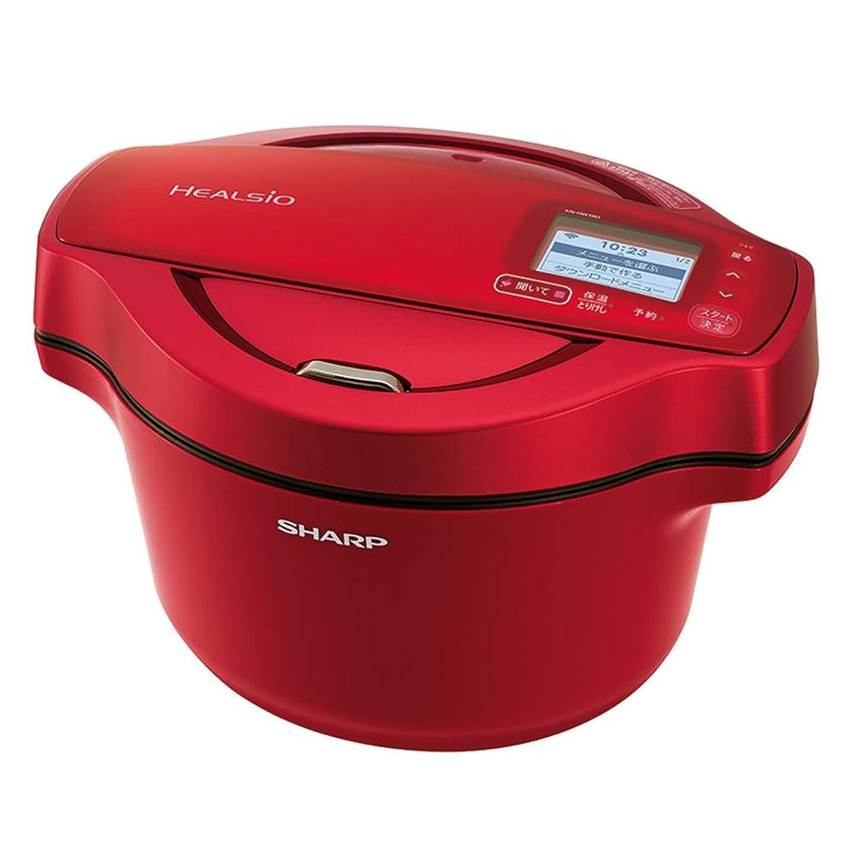 することになっているルアー週末シャープ 自動調理 鍋 ヘルシオ ホットクック 1.6L 無水鍋 AIoT対応 レッド KN-HW16D-R