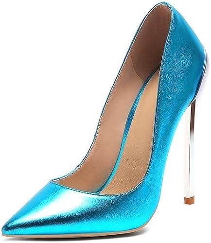WJFGGXHK Femmes Chaussures De Talons De Mariée Femme Chaussures Valentine Chaussures à Talons Champagne Fête Escarpins De Mariage