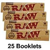 Raw Papel Slim de Fumar (25 libritos)