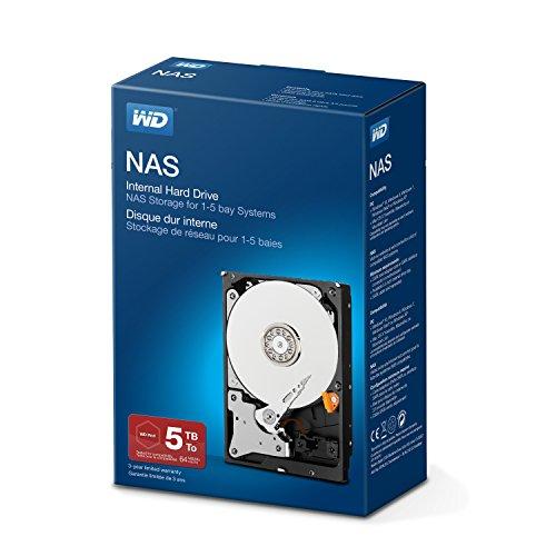 WD Red Kit Disque dur interne NAS 5 To 3,5 pouces SATA intellipower