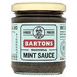 Barton's Pickles Salsa de menta, 1,08 kg, paquete de 6