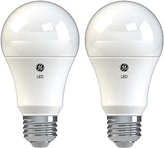 GE Basic LED Light Bulbs, 100-Watt Replacement, 2-Pack, Soft White, A19 LED Bulb, Medium Base