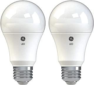 GE Lighting 37025 Basic LED (100-Watt Replacement), 1490-Lumen A19 Bulb, Medium Base, Soft White, 2-Pack, Title 20 Compliant