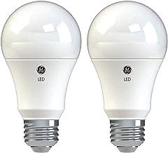 GE Lighting 37027 Basic LED (100-Watt Replacement), 1490-Lumen A19 Bulb, Medium Base, Daylight, 2-Pack, Title 20 Compliant