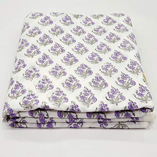Tela de algodón suave con estampado de acuamarina de 5 yardas de Crafttoppinkcity, tela de algodón suave, se vende por yardas, tela de algodón para mujer
