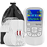 TENS Unit Muscle Stimulator 25 Modes Dual Channel TENS Unit TENS/EMS Rechargeable Electronic Pulse Massager Device for Back Neck Pain Muscle Therapy Pain Management Pulse Massager