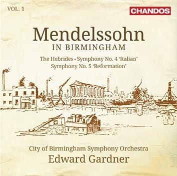 Mendelssohn in Birmingham, Vol. 1
