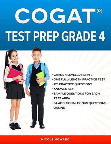 COGAT® TEST PREP GRADE 4: Grade 4, Level 10, Form 7, One...