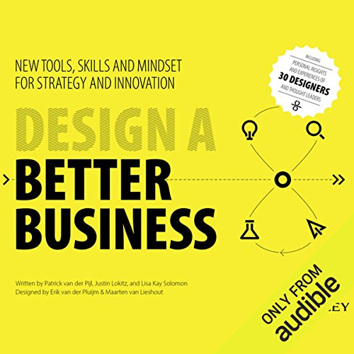 Design a Better Business audiobook cover art