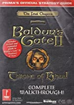 Baldur's Gate 2 - Throne of Bhaal Official Strategy Guide de Prima Development