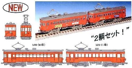 Meitetsu Type Mo510 520 [Scarlet Farbe] (2-Car Set) (Model Train) (japan import)