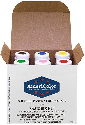 Gel Food Coloring