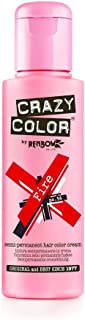 Renbow Crazy Color Semi Permanent Hair Color Cream Fire No.